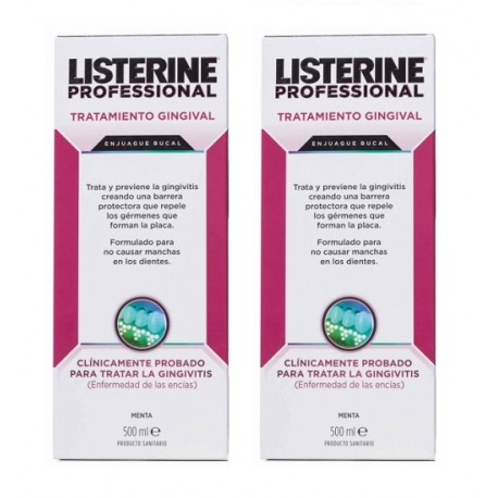 Listerine Professional Gingival 2 x 500ml