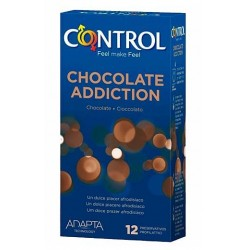 Comprar Control Preservativos Chocolate Addiction 12 uds.