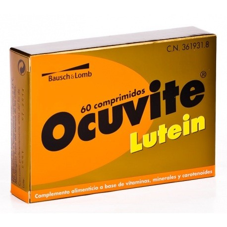 Ocuvite Lutein 60 comprimidos