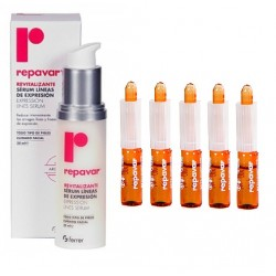 Comprar Repavar Pack Antiarrugas Efecto Lifting Serum + 5 ampollas flash
