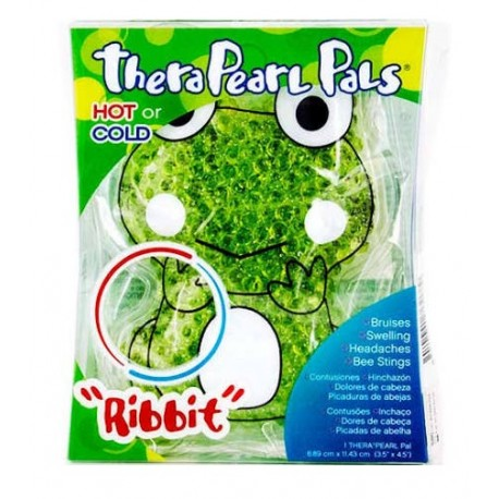 TheraPearl Pals Infantil Verde Ribbit