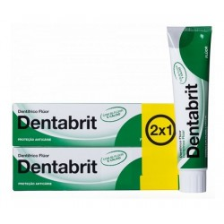 Comprar Dentabrit Flúor Anticaries 2 x 125ml