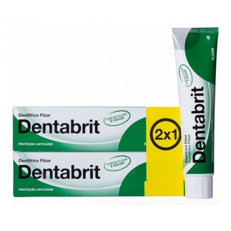 Dentabrit Flúor Anticaries 2 x 125ml