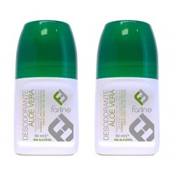 Comprar Farline Desodorante Aloe Vera Roll on 2 x 50ml