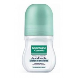 Comprar Somatoline Desodorante Pieles Sensibles Roll-On 50ml.
