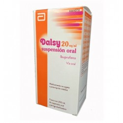 Comprar Dalsy 20 mg Jarabe 150 ml