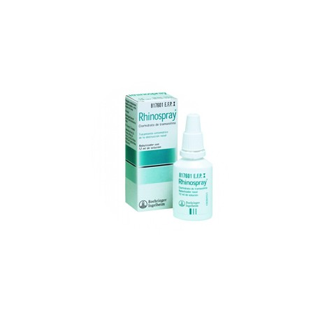 RHINOSPRAY (1.18 MG/ML NEBULIZADOR NASAL 12 ML)