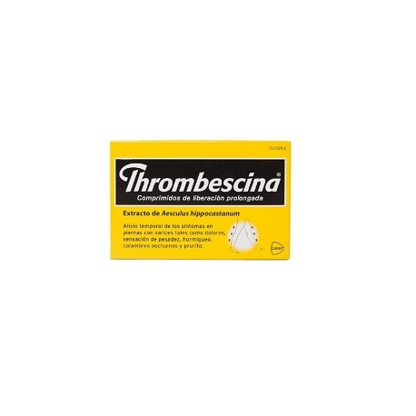 THROMBESCINA (263.2 MG 50 COMPRIMIDOS LIB PROLONGADA)