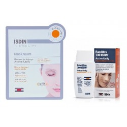 Isdin Pack Active Unify FotoUltra 100 Color 50ml + Maskream 30ml.