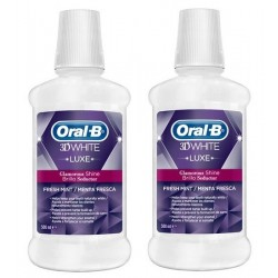 Comprar Oral B 3D White Luxe Enjuague 2 x 500ml