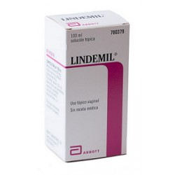 LINDEMIL (6/80 MG/ML SOLUCION VAGINAL 100 ML)