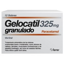 Gelocatil Granulado Pediátrico 325 mg