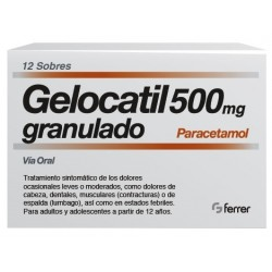 Gelocatil Granulado 500mg