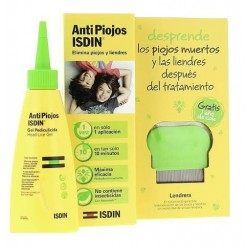 Comprar AntiPiojos Isdin Gel Pediculicida 100ml + Lendrera