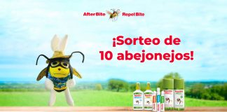 Sorteo de 10 abejonejos con Repel Bite y After Bite
