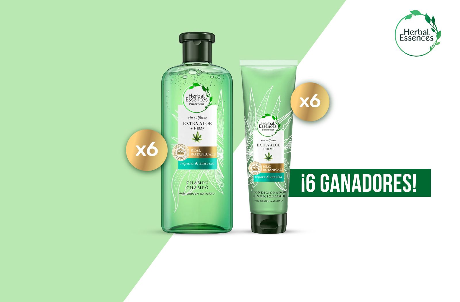 Herbal Essences os presenta un SÚPER sorteo