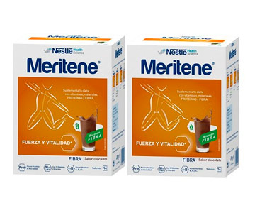 Meritene Fibra Chocolate Pack