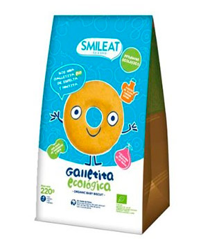 Smileat Galletas Infantiles Ecológicas