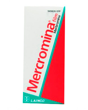 Mercromina Film Lainco 20mg/ml